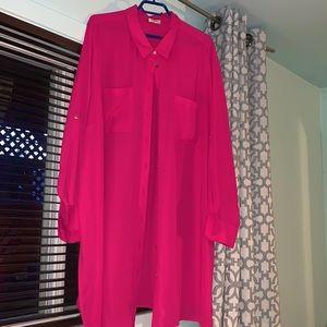 Pink tunique Laura Plus Size 24